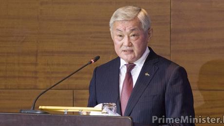 Масимов представил активу Актюбинской области нового акима Бердибека Сапарбаева
