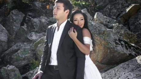 Свадьба года: Аша Матай вышла замуж за Армана Конырбаева