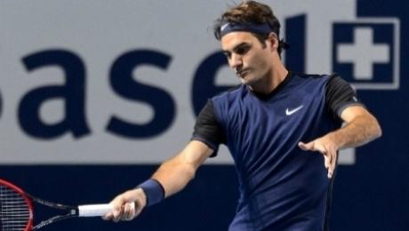 Михаил Кукушкин проиграл Роджеру Федереру, взяв лишь три гейма