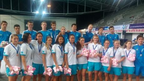 Сборная Казахстана по водным видам спорта удачно завершила 8-ой Чемпионат Азии AASF