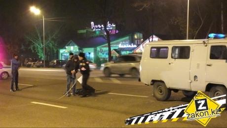 В Алматы насмерть сбили мужчину перебегавшего Рыскулова в неположенном месте
