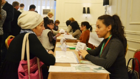 В Алматы прошла ярмарка вакансий для лиц с ограниченными возможностями