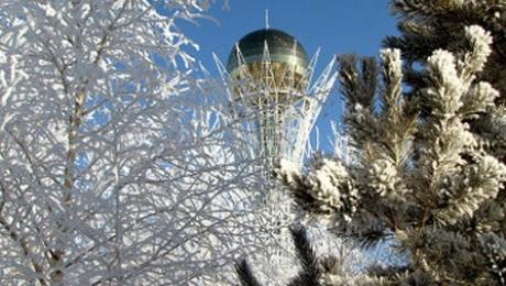 13 декабря в Казахстане ожидается погода без осадков