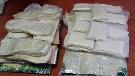 У задержанного в Алматинской области наркоторговца изъято около 2 кг героина