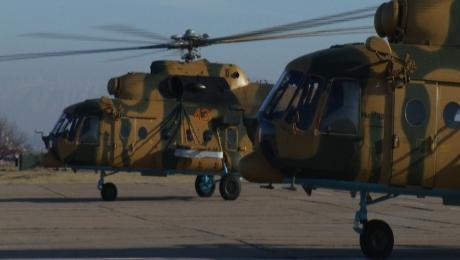 ВВС Казахстана пополнились новыми военно-транспортными вертолетами