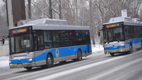 Около 200 водителей общественного транспорта в Алматы оштрафованы