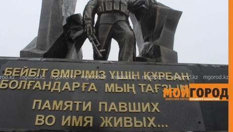 В Уральске подрядчик устранил ошибку на памятнике воинам-интернационалистам